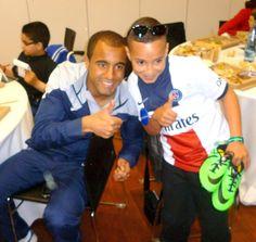 Voici Ilyès, 10 ans, grand supporter du PSG réalisant son vœu le plus cher ! (Pour en savoir plus : https://www.facebook.com/makeawishfrance )
