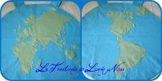 Tutorial disfraz planeta tierra. DIY costume earth (world)