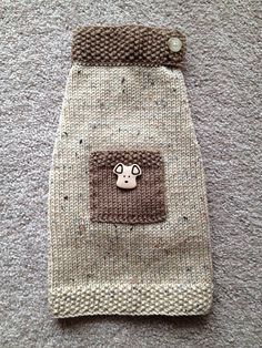 Hand Knit Dog Sweater in Size Small by MyGrandpupsSweaters on Etsy