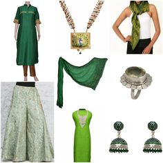 Mix n Match #Zoyashi's exclusive range of kurtas, sharara, scarfs, jewelry! #ethnicwear #mixnmatch #silver #earrings