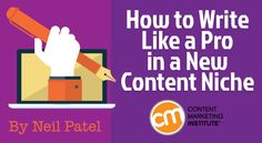 How to Write Like a Pro in a New Content Niche
