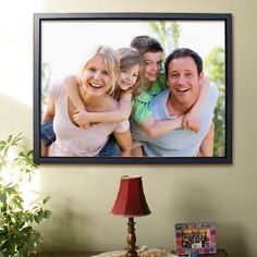 Framed 18x24 Picture Perfect Photo Canvas