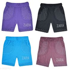 Shorts & Capris Classy Kid's Cotton Shorts Combo Fabric: Cotton  Size: Age Group (2 - 3 Years) - 20 in Age Group (3 - 4 Years) - 22 in Age Group (4 - 5 Years) - 24 in Age Group (5 - 6 Years) - 26 in Age Group (6 - 7 Years) - 28 in Age Group (7 - 8 Years) - 30 in Age Group (8 - 9 Years) - 30 in Age Group (9 - 10 Years) - 32 in Type: Stitched Description: It Has 4 Set Of  Kid's Girl's Shorts Work: Printed Country of Origin: India Sizes Available: 2-3 Years, 3-4 Years, 4-5 Years, 5-6 Years, 6-7 Years, 7-8 Years, 8-9 Years, 9-10 Years, 18-24 Months   Catalog Rating: ★4.1 (1032)  Catalog Name: Stunning Classy Kid's Cotton Shorts Combo Vol 14 CatalogID_510141 C62-SC1146 Code: 093-3657701-879
