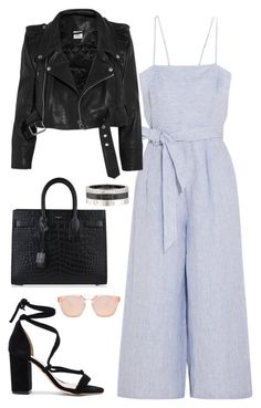 Outfit #498 by valeriatrav on Polyvore featuring polyvore, fashion, style, Vetements, J.Crew, Raye, Yves Saint Laurent, Cartier and clothing