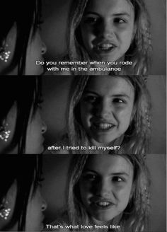 Skins UK. Cassie  and Jal. Cassie was so sad and fragile throughout the entire storyline, but she never saw how many people truly cared about her. I wonder how many people are just like that in the world