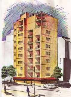 Bocetos rapidos arquitectonicos buscar con google for Putas ciudad jardin