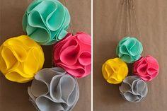 CAKE. | events + design: DiY tutorial: felt pom flowers