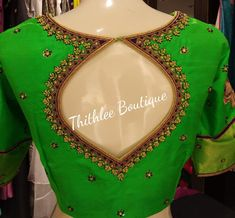Thithlee Boutique. <br> Sarjapur Road (near Wipro). <br>  Bangalore India. <br> Contact : 099864 38942.