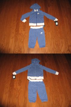 Baby Boys Clothing And Accessories: Nike Boys 2-Pc. Zip-Up Hoodie And Pants Set 2T/3T/4T Nwt BUY IT NOW ONLY: $32.99