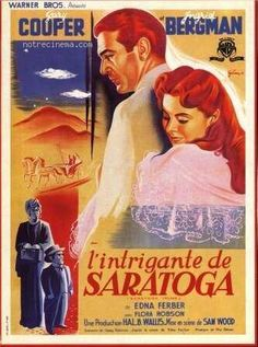 l'intrigante de saratoga   affiche L'Intrigante de Saratoga 154221