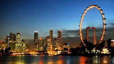 Singapore lung linh huyền ảo về đêm | GoldenTour