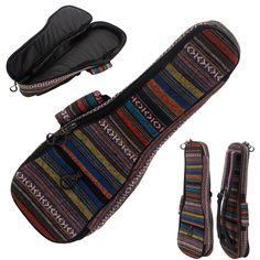 Soft Cotton Gig Bag For 21 Inch Soprano Ukulele Ukulele Cover Ukulele Cases