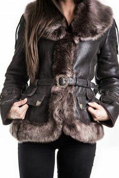 Fur Coat, Jackets, Fashion, Moda, Fur Coats, Fasion, Fashion Illustrations, Fashion Models, Cropped Jackets