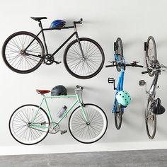 Off Road Tires, Bike Shelter - Cycling Gear, Bicycles. Bike Wall Storage, Wall Mount Bike Rack, Bike Shelf, Storing Bikes In Garage, Garage Bike, Bike Hooks, Bike Hanger, Garage Organization, Garage Storage