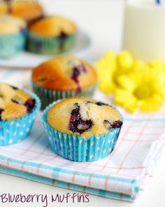 EGGLESS BLUEBERRY MUFFINS RECIPE