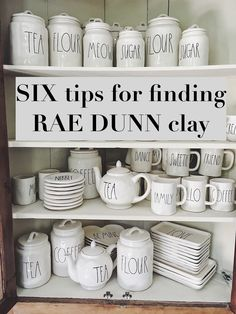 6 tips for finding Rae Dunn pottery from MY 100 Year Old Home Coin Café, Halloween Blanket, Café Bar, Floating, Farmhouse Chic, Farmhouse Design, Farmhouse Kitchens, Web Design, First Home