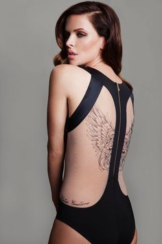 Nice back! Perhaps with a hood and a drapy front for the bra? ;-)