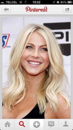 Julianne Hough Hair - See her hairstyles over the years. From long and brown to short and blond. Julianne Hough's hair is as well known as her dancing. Her short blond locks have been requested in salons across the country. Hair Color For Fair Skin, Cool Hair Color, Hair Colour, Blonde Color, Level 8 Hair Color, Black Pink ジス, Medium Hair Styles, Long Hair Styles, Great Hair