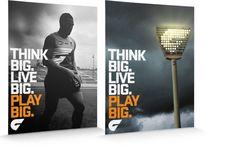 Principals GWS Giants Brand Identity- poster