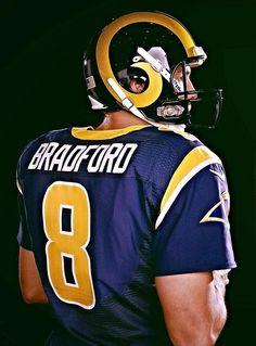 QB Sam Bradford of the St. Louis Rams.