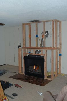 How to design and build gorgeous diy fireplace built ins 1000 ideas about gas fireplaces on pinterest stainless diy solutioingenieria Images