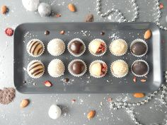 Marcipánové kuličky recepty, marcipánové cukroví, vánoční cukroví recepty, marcipánové kuličky recepty, vánoční cukroví nejlepší Muffin, Muffins, Cupcakes