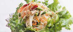 A refreshing first course or a light lunch.  Som Tumm by Chef Toui Savangsengouthay, Bangkok Thai