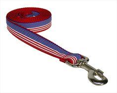 #Sassy Dog Wear American Flag Small Dog #Leash