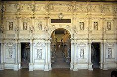 Teatro Olimpico, Vicenza, Veneto, Italy. UNESCO World Heritage Sites.