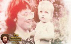 ST (СТ, Александр Степанов) в младенчестве, детстве с мамой