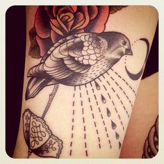 sparrow #tattoo