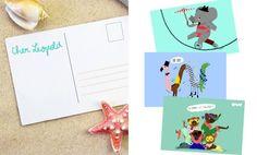 Cet été envoyez des cartes postales rigolotes