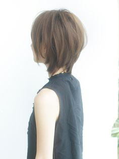 Japanese Short Hair, Korean Short Hair, Short Thin Hair, Girl Short Hair, Short Hair Cuts, Mullet Haircut, Long Shag Haircut, Hair Upstyles, Shot Hair Styles