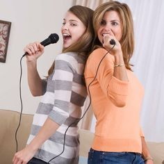 """Be My Baby    """"See which guest can come up with the most songs containing the word 'baby.' If none of the guests are familiar with a certain song, the person who listed it must sing some of it to get credit.""""—BabyZone Mom"""
