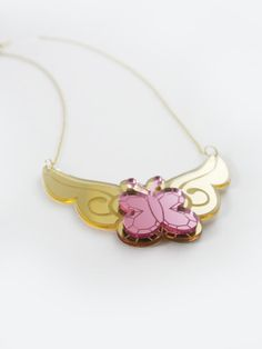 Fluttershy - My Little Pony Element of Kindness Necklace