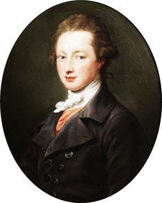 Pompeo Batoni (1708-1787): Portrait of a gentleman. 1779.  Princess of Liechtenstein