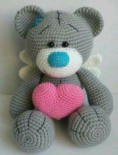 How To Crochet an Amigurumi Rabbit Crochet Animal Patterns, Stuffed Animal Patterns, Crochet Patterns Amigurumi, Crochet Animals, Crochet Dolls, Crochet Teddy, Crochet Bear, Crochet Gifts, Cute Crochet