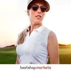 Modisch, funktional und exklusiv! Sportliche Outfits, in denen Sie auf dem Golfplatz und in der Freizeit mit Stil überzeugen? Unser Naughty Deal des Tages!  #bestshopmarkets #golf #sport #style #trendsetter #stilhabenwir Golf Sport, Sport Style, Sunglasses, Fashion, Athletic Outfits, Moda, Athletic Style, Fashion Styles, Sunnies