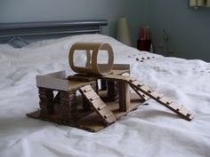 DIY Hamster House Photo:  This Photo was uploaded by meritaking. Find other DIY Hamster House pictures and photos or upload your own with Photobucket fre...