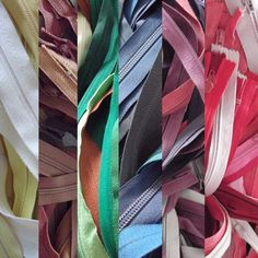 A rainbow of zippers just for you!