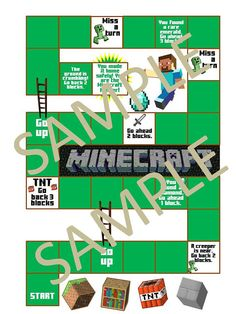 Best Minecraft Games And Party Activities Images On Pinterest - Minecraft minecraft spiele