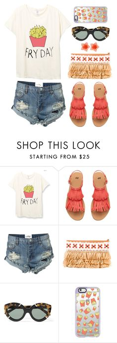 """""""Simple Set #37"""" by stacey-lynne ❤ liked on Polyvore featuring One Teaspoon, Tory Burch, Karen Walker, Casetify and Dsquared2"""