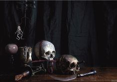 Skulls Poster – Museum of Witchcraft and Magic