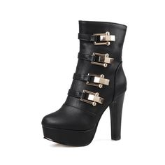 Gerdan High heels platform ankle boots //Price: $59.28 & FREE Shipping //