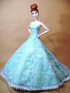 Silkstone Barbie Fashion Royalty Candi Model Dress Gown | eBay