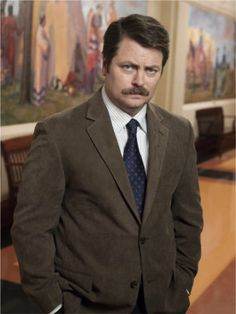 """""""He's a tourist. He vacations in people's lives, takes pictures, puts them in his scrapbook, and moves on. All he's interested in are stories. Basically, he's selfish. And you're not. That's why you don't like him.""""  Ron Swanson"""