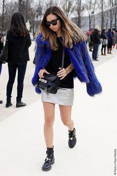 Rumi Neely at Paris Fashion Week FW13