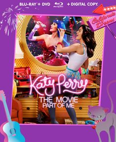 """Get a free #KP3D T-Shirt with your purchase of the """"Katy Perry: Part of Me""""  Blu-ray/DVD/Digital Copy FASHION PACK only at Target!"""