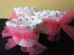 cestini in fettuccia con fiocco di tulle rosa nel mio negozio on line  www.misshobby.com/it/negozi/le-gioie-di-pil