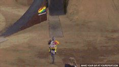 Tom Pages dirtbike back-flip
